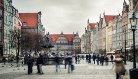 Architecture  of Gdansk Royalty Free Stock Photography