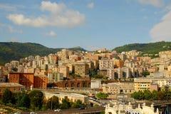 Architecture of Genoa. Stock Photo