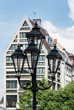 Architecture in the German city Nuremberg Royalty Free Stock Images