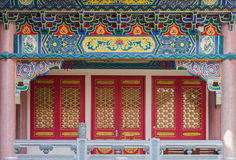 Architecture of Golden Dragon Chinese temple Royalty Free Stock Image