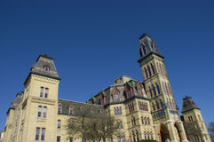 Architecture gothique victorienne de type Images libres de droits