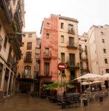 Architecture Gotic Barcelone quarte Photographie stock libre de droits