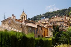 Architecture of Grasse Royalty Free Stock Photo