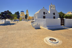 Architecture of Greece, Santorini, Oia Stock Image