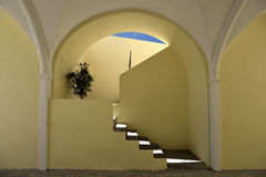 Architecture of Greece, Santorini, Oia Royalty Free Stock Photography