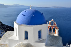 Architecture of Greece, Santorini, Oia Royalty Free Stock Image