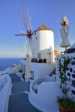 Architecture of Greece, Santorini, Oia Stock Images