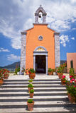 Architecture of Greek churches Royalty Free Stock Photo