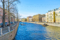 The architecture at Griboedov Canal Royalty Free Stock Photography