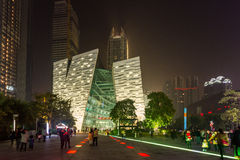 Architecture in Guangzhou, China Royalty Free Stock Photography
