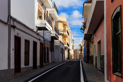 Architecture of Guia de Isora Royalty Free Stock Images
