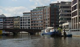 Architecture of HafenCity Hamburg - Germany - Europa Royalty Free Stock Photography