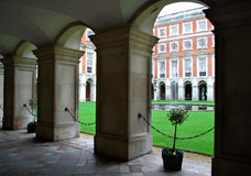 Architecture of Hampton Court Royalty Free Stock Photography