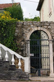 Architecture in Herceg Novi. Architectural detail in the city of Herceg Novi (Montenegro Royalty Free Stock Photography