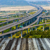Architecture of highway Stock Photos