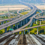 Architecture of highway Royalty Free Stock Photo