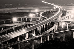 Architecture of highway construction Royalty Free Stock Photography