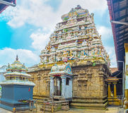 The architecture of Hindu Temple Stock Images
