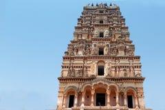 Architecture of Hindu temple Gopuram Stock Photos