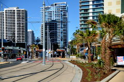 Architecture and hire rise buildings at  Gold Coast Royalty Free Stock Photography