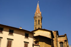 Architecture of the historic centre of Florence, Royalty Free Stock Photos
