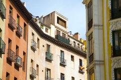 Architecture historic Madrid Spain Royalty Free Stock Photos