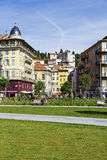 Architecture of historic part of the city, Nice Stock Photo
