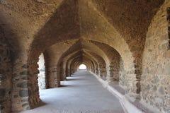 Architecture historique, pavillon de roopmati de ranis Image stock