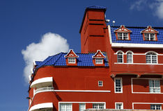 Architecture hollandaise, Curaçao photo libre de droits