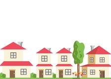 Architecture home modern royalty free illustration