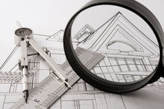 Architecture home project Stock Photo