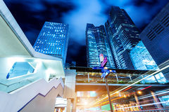 Architecture in Hong Kong Royalty Free Stock Photography