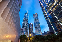 Architecture in Hong Kong Stock Photography