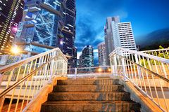 Architecture in Hong Kong Stock Photo