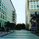 Architecture. I captured the pic place DLF IT park Chennai Stock Photos