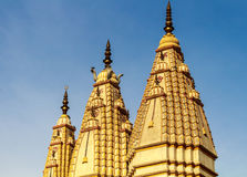 Architecture of Indian hindu temples Royalty Free Stock Images