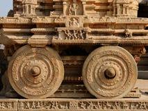 Architecture indienne dans Hampi photographie stock libre de droits