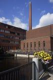 Architecture industrielle à Tampere Photos stock