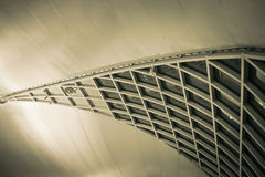 Architecture inside the airport in Abstract style Stock Images