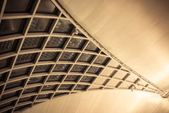Architecture inside the airport in Abstract style Stock Photos