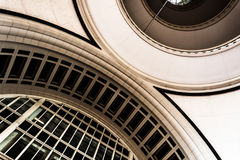 Architecture inside Rowes Wharf, in Boston, Massachusetts. stock photos