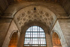 Architecture inside Union Station in Toronto Royalty Free Stock Images