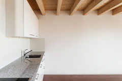 Architecture, intérieur, maison vide photo libre de droits