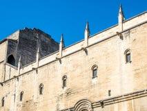 Architecture intérieure de palais papal images stock