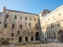 Architecture intérieure de palais papal image libre de droits