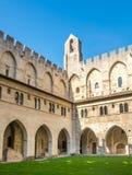 Architecture intérieure de palais papal photo libre de droits