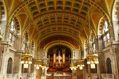 Architecture intérieure du musée d'art et de galerie à Glasgow Photos libres de droits
