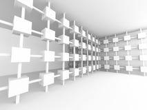 Architecture intérieure vide Backgroun de conception futuriste abstraite illustration stock