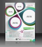Architecture & Interior Decorator Flyer Royalty Free Stock Photos