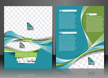 Architecture & Interior Decorator Flyer. Template Royalty Free Stock Image